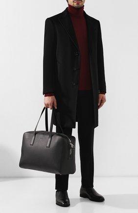Кожаная дорожная сумка | Фото №2