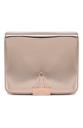 Женская сумка binder clip OFF-WHITE розового цвета, арт. 0WNA011E19720077B500 | Фото 1