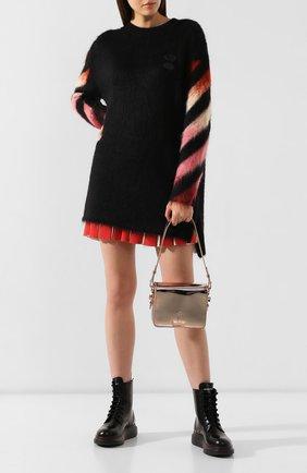 Женская сумка binder clip OFF-WHITE розового цвета, арт. 0WNA011E19720077B500 | Фото 2