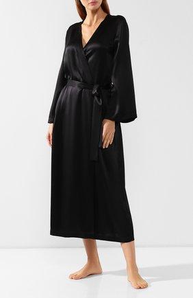 Шелковый халат | Фото №2