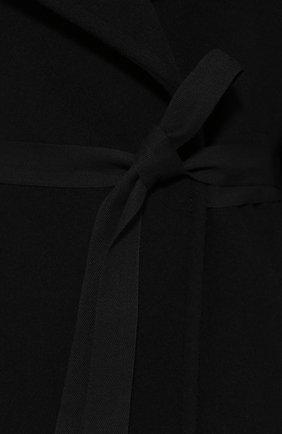 Женское шерстяное пальто MM6 черного цвета, арт. S52AA0069/S47852   Фото 5