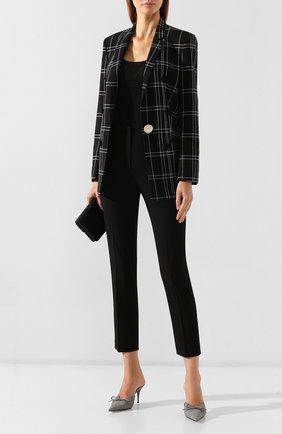 Женские брюки со стрелками ALEXANDERWANG.T черного цвета, арт. 4WC2194005 | Фото 2