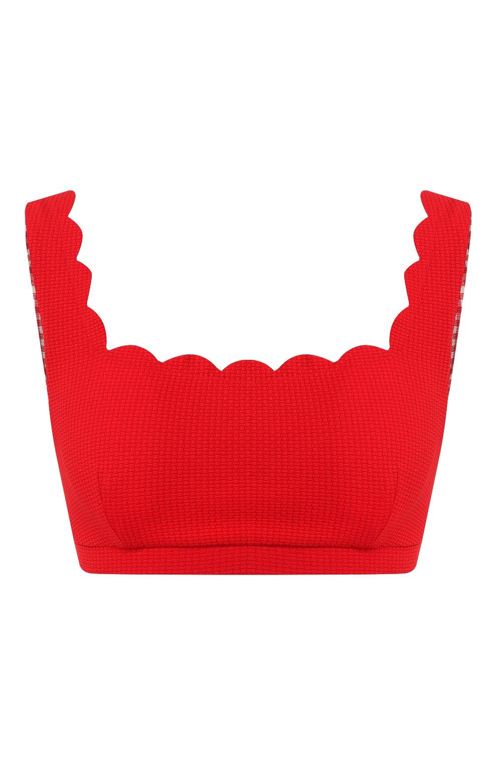 Женский бра-топ MARYSIA красного цвета, арт. ST067/EXCLUSIVE | Фото 1