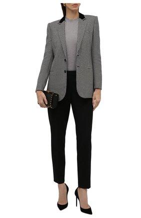 Женский шерстяной пуловер EMPORIO ARMANI серого цвета, арт. 8N2MZR/2M9DZ   Фото 2