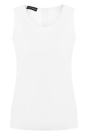Женский топ EMPORIO ARMANI белого цвета, арт. 0NK43T/02003 | Фото 1