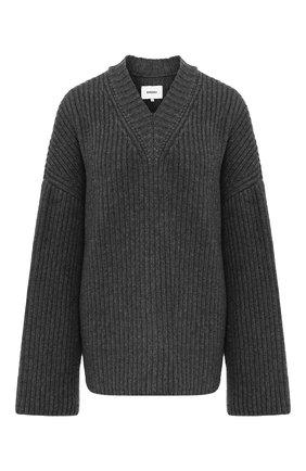Женская свитер NANUSHKA бежевого цвета, арт. M0G_TAUPE_CASHMERE BLEND RIB | Фото 1