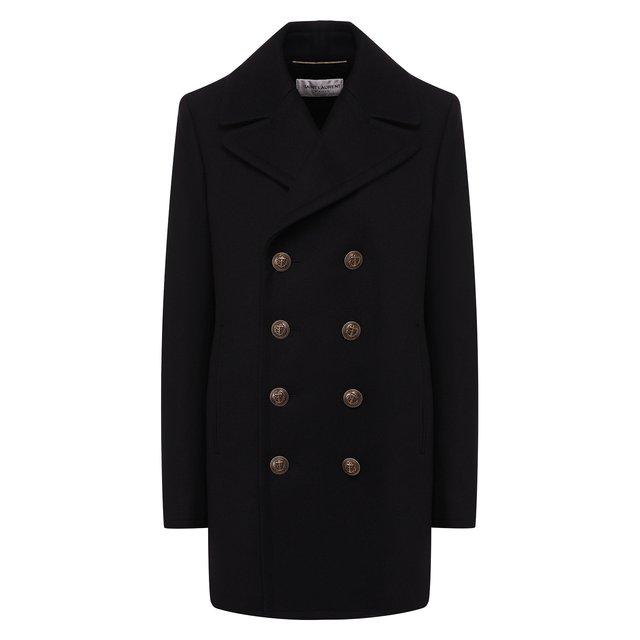 Шерстяное пальто Saint Laurent