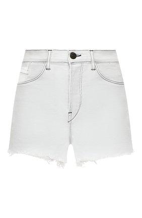Женские джинсовые шорты 3X1 белого цвета, арт. WSXSB0952/ADELIA | Фото 1