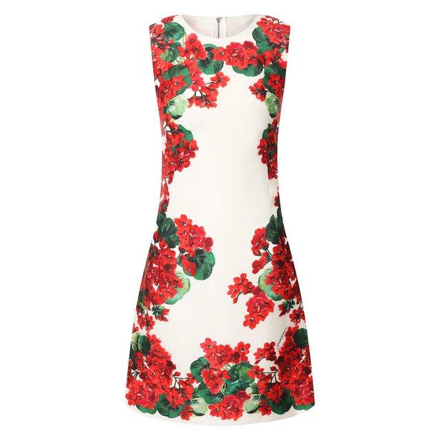 Шелковое платье Dolce & Gabbana