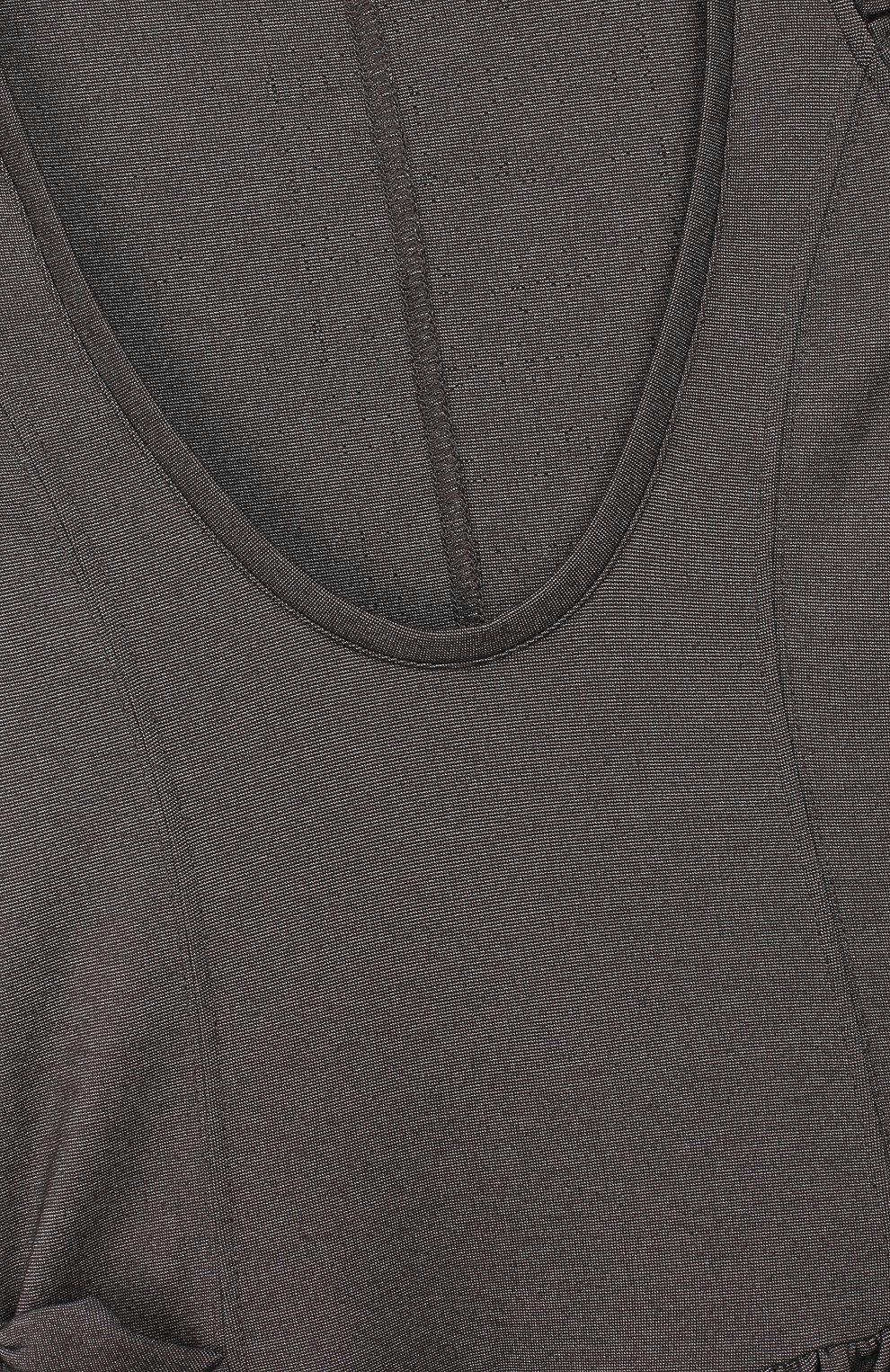 Детское сарафан из вискозы MONNALISA серого цвета, арт. 18CSCA   Фото 3 (Рукава: Короткие, Без рукавов; Случай: Повседневный; Девочки Кросс-КТ: Сарафан-одежда; Материал внешний: Вискоза; Статус проверки: Проверена категория; Ростовка одежда: 10 - 11 лет   140 - 146см, 9 лет   134 см)