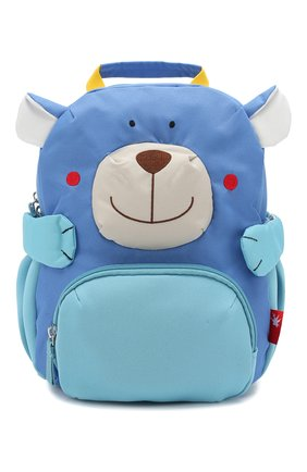 Детская рюкзак мишка SIGIKID синего цвета, арт. 24918 | Фото 1