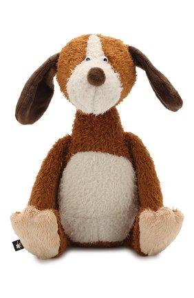 Детского игрушка большая собака SIGIKID коричневого цвета, арт. 38722 | Фото 1