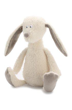 Детского игрушка большой заяц SIGIKID белого цвета, арт. 38523 | Фото 2 (Статус проверки: Проверена категория)