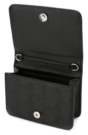 Детская сумка на цепочке PHILIPP PLEIN черного цвета, арт. GBB0031 | Фото 3