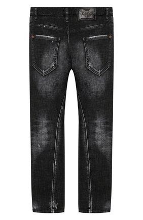Детские джинсы DSQUARED2 темно-серого цвета, арт. DQ02VD-D00VK   Фото 2