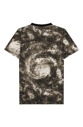 Детская хлопковая футболка STONE ISLAND хаки цвета, арт. 711622058/6-8 | Фото 2
