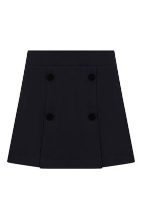 Детская юбка DAL LAGO темно-синего цвета, арт. R378/8111/7-12 | Фото 1