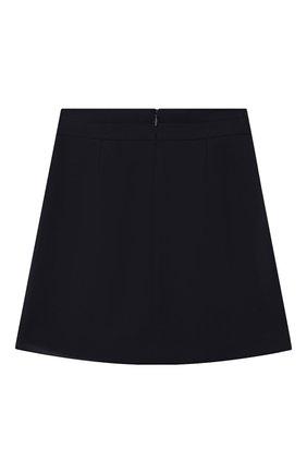 Детская юбка DAL LAGO темно-синего цвета, арт. R378/8111/7-12 | Фото 2
