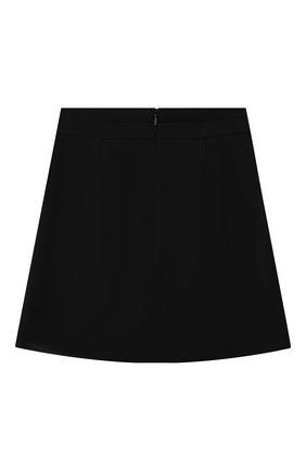 Детская юбка DAL LAGO черного цвета, арт. R378/8111/7-12 | Фото 2