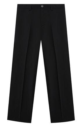 Детские шерстяные брюки DAL LAGO черного цвета, арт. N202/1011/4-6   Фото 1