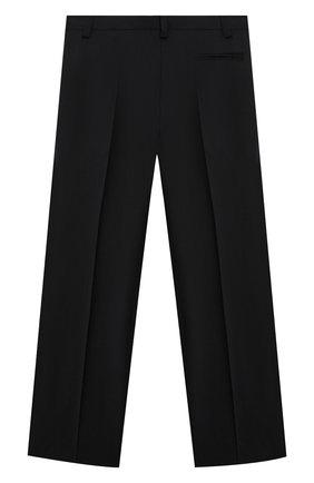 Детские шерстяные брюки DAL LAGO черного цвета, арт. N202/1011/4-6   Фото 2