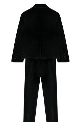 Детский костюм из пиджака и брюк DAL LAGO темно-синего цвета, арт. N062/7712/4-6 | Фото 2