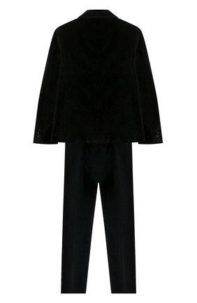Детский костюм из пиджака и брюк DAL LAGO черного цвета, арт. N062/7712/13-16 | Фото 2