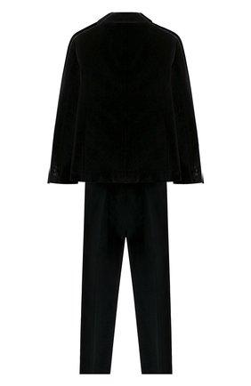 Детский костюм из пиджака и брюк DAL LAGO темно-синего цвета, арт. N062/7712/7-12 | Фото 2