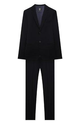 Детский костюм из пиджака и брюк DAL LAGO темно-синего цвета, арт. N011/1011/13-16 | Фото 1