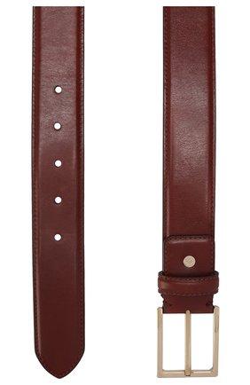 Мужской кожаный ремень BRIONI светло-коричневого цвета, арт. 0BAC0L/P6757 | Фото 2