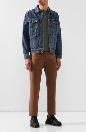 Мужская джинсовая куртка TOM FORD синего цвета, арт. BTJ11/TFD111 | Фото 2