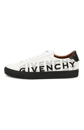 Кожаные кеды Givenchy черно-белые | Фото №3