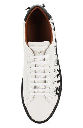 Кожаные кеды Givenchy черно-белые | Фото №5