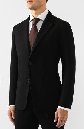 Мужской шерстяной костюм Z ZEGNA черного цвета, арт. 624715/2XPYGX | Фото 2