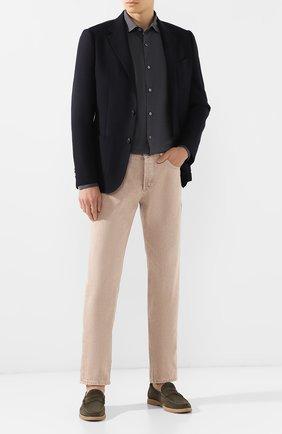 Мужской шерстяной пиджак Z ZEGNA темно-синего цвета, арт. 654721/1XPKG0 | Фото 2