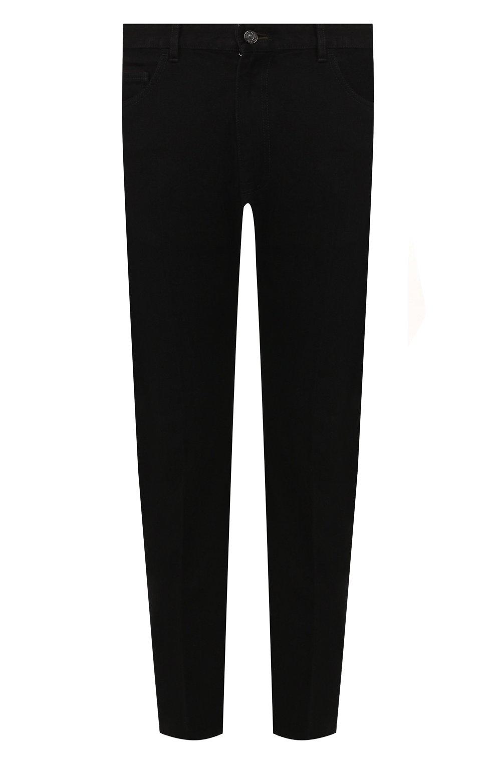 Мужские джинсы ERMENEGILDO ZEGNA черного цвета, арт. UTL03/JL02 | Фото 1