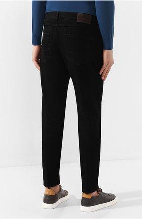 Мужские джинсы ERMENEGILDO ZEGNA черного цвета, арт. UTL03/JL02 | Фото 4