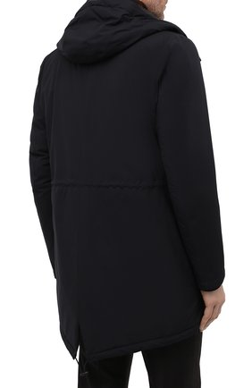 Мужская пуховая парка HERNO черного цвета, арт. PI100UL/11121 | Фото 4