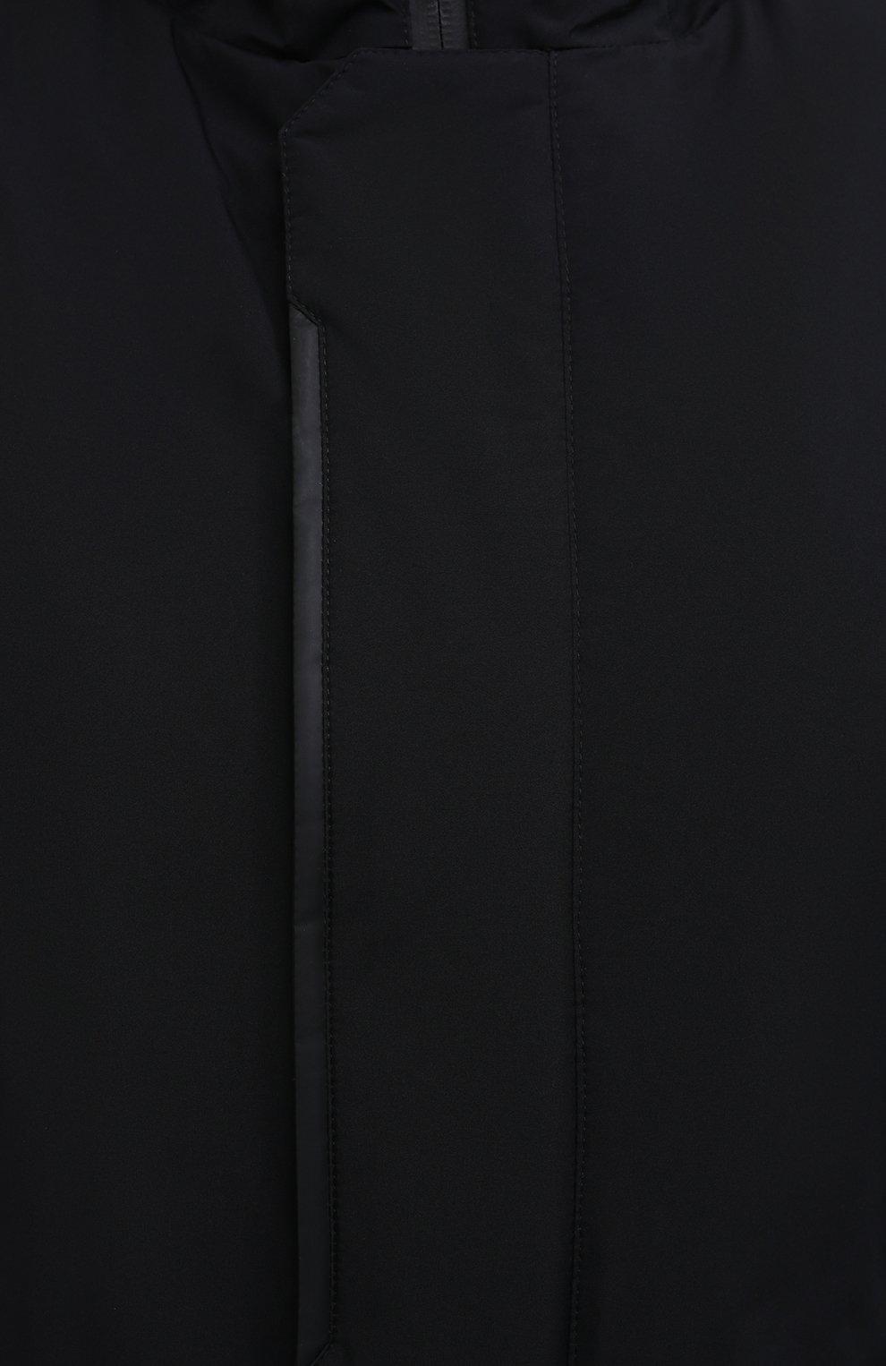 Мужская пуховая парка HERNO черного цвета, арт. PI100UL/11121 | Фото 5