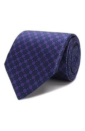 Мужской шелковый галстук CORNELIANI фиолетового цвета, арт. 84U390-9820332/00 | Фото 1