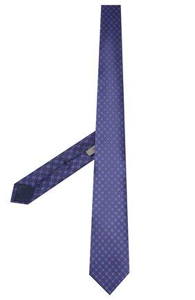 Мужской шелковый галстук CORNELIANI фиолетового цвета, арт. 84U390-9820332/00 | Фото 2
