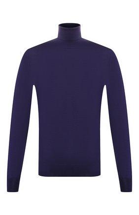Мужской шерстяная водолазка CORNELIANI фиолетового цвета, арт. 84M523-9825126/00 | Фото 1