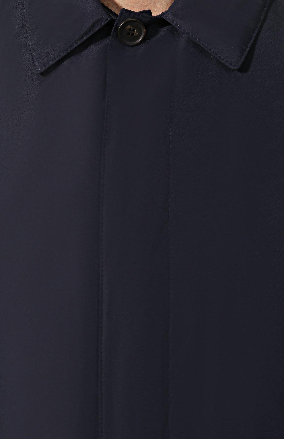 Мужской плащ CORNELIANI темно-синего цвета, арт. 8435B3-9820133/00   Фото 5