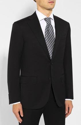 Мужской шерстяной костюм CORNELIANI черного цвета, арт. 847268-9818150/92 Q1 | Фото 2