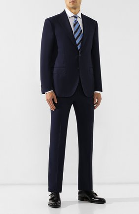 Мужской шерстяной костюм CORNELIANI синего цвета, арт. 847268-9818150/92 Q1 | Фото 1