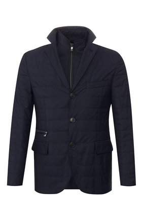 Мужская куртка CORNELIANI темно-синего цвета, арт. 846S43-9813033/00 | Фото 1