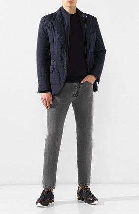 Мужская куртка CORNELIANI темно-синего цвета, арт. 846S43-9813033/00 | Фото 2