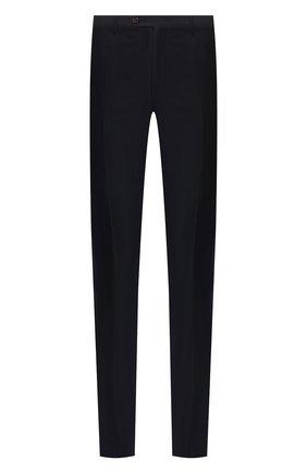 Мужской шерстяные брюки CORNELIANI темно-синего цвета, арт. 845264-9818276/02 | Фото 1