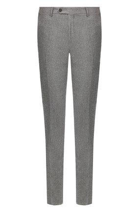 Мужской шерстяные брюки CORNELIANI серого цвета, арт. 845264-9818111/02 | Фото 1