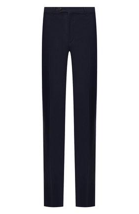 Мужской шерстяные брюки CORNELIANI синего цвета, арт. 845263-9818150/02 | Фото 1